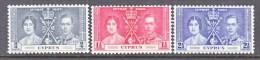 CYPRUS  140-2    **  CORONATION - Cyprus (...-1960)