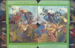 COSTA RICA (PUZZLE) MURAL ECOLOGICO 2003 NEW