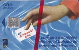 "Costa Rica ""CHIP"" Anunciese aqui (1 emisi�n) 1999 NEW in Blister"