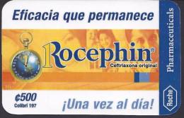 COSTA RICA ROCHE PHARMACEUTICALS, ROCEPHIN, 2001 NEW