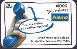 COSTA RICA ALAMO RENT A CAR 2002 NEW