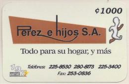 COSTA RICA PEREZ e HIJOS S.A., REMOTE MEMORY 2001 NEW