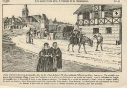 AUX  PORTES  D'UNE  VILLE A L'EPOQUE DE LA RENAISSANCE       (NUOVA) - Europe
