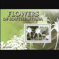 PALAU 2007 - Scott# 893 S/S Flowers MNH - Palau