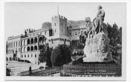 MONACO - N° 25 - LE PALAIS PRINCIER ET MONUMENT COMMEMORATIF - CARTE FORMAT CPA NON VOYAGEE - Ed. MUNIER - Prince's Palace