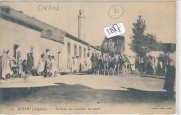 CPA - 28887- Algérie - Aflou ( Oran)  - Arrivée Du Courrier Du Nord - Autres Villes