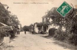 Cazoules ( Dordogne ) - Grand'rue Et Route De Souillac - 24 - - Sonstige Gemeinden