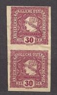 AUSTRIA Österreich 1916 MH (*) Mi 216 Zeitungsmarken . Newspaper Stamp - Unused Stamps