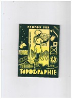SCOUTISME  ORIENTATION  LA TOPOGRAPHIE   1961 - Padvinderij