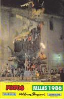 REVUE  SUR VALENCIA  EN ESPAGNE  FALLAS  1986    ALBUM  BAYARRI - Zeitungen & Zeitschriften