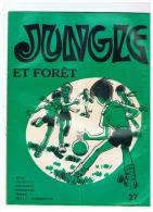 SCOUTISME   JUNGLE ET FORET  1976 - Pfadfinder-Bewegung