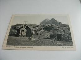 GROENLANDIA GRONLAND DAS DANISCHE KIRCHLEIN IN UMANAK  CHIESA - Groenlandia
