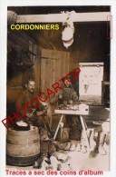 CORDONNIERS-NON SITUEE-CARTE PHOTO Allemande-Guerre 14-18-1 WK-France- - Oorlog 1914-18
