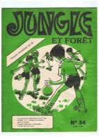 SCOUTISME   JUNGLE ET FORET  AQUES PROMESSE DE VIE  1978 - Pfadfinder-Bewegung