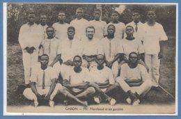 AFRIQUE  -- GABON -- Mr Marchaud Et Ses Garçons - Gabon