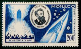 JULES VERNE 1955 - NEUF ** - YT PA 60 - MI 522 - Monaco