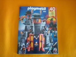 Greek Playmobil Collectible Catalog Catalogue 1974-2014 40 Years Celebration - Playmobil
