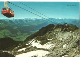 Monte Santis (Appenzello/San Gallo, Svizzera) Cabinovia/Funivia, Telecabine - AR Appenzell Rhodes-Extérieures