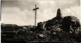 CARTE PHOTO HARTMANNSWILLERKOPF ,BORNE LIMITE DU FRONT FRANCAIS ET CROIX LUMINEUSE,(CACHET) REF 44038 - Oorlog 1914-18