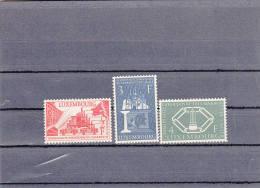 Luxemburg Montanunion 1956 - Ungebraucht