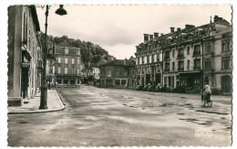 CPSM 55 SAINT MIHIEL PLACE DES HALLES  JOLI PLAN - Saint Mihiel
