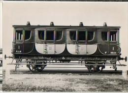 CP Du Museon Di Rodo - N° 654 - PLM Voiture Mixte I/II Photographié à Nimes - Construite En 1855 - Equipment