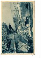 CARRARA - FOTOGRAFIA RAPPRESENTANTE UN TAGLIO ORIZZONTALE AL MONTE - Carrara