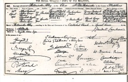 The Royal Wedding -  April 26, 1923 - Copy Of The Register Real Photo - Royal Families