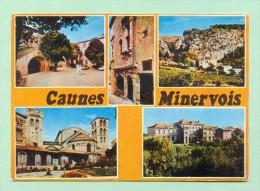 CPM  FRANCE  11  -  CAUNES-MINERVOIS  -  6374  Divers Aspects  ( Combier 1985 ) - Francia