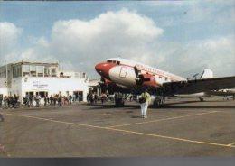 LYDD Ashford Airport Airplane Douglas DC-3 SOUTH COAST AIRWAYS Avion DC 3 Aircraft Aviation DC3