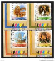 China  Chine : (33) 2002 Taiwan - Festivals Folkloriques Traditionnels (2èmes Séries) SG2817/20** - 1945-... République De Chine
