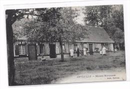 Cpa Anvéville ( Seine -inf)  Maison Normande - Altri Comuni