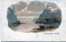 Hardangerfjörd (Norvège) - Norvegia