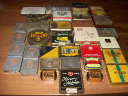 Old Tin Boxes For Tobacco, Etc., More Than 35 Old Tin Tobacco Box, Price For One Books - Books