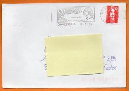 07 DAVEZIEUX  COMMUNE DES FRERES MONGOLFIER    6 / 1 / 1998  Lettre Entière N° M 210 - Postmark Collection (Covers)