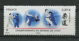 France 2011 - N° 4574  -  Championnat Du Monde De Judo Paris Bercy - Neuf ** - France