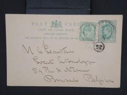 GRANDE BRETAGNE-CAP DE BONNE ESPERANCE-Entier Postal Pour La Belgique 1905  à Voir P6727 - África Del Sur (...-1961)