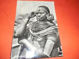 B621 Zanzibar A Samburu Woman Presenza Piega E Screpolatura Al Retro - Cartoline