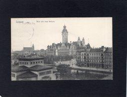 54712    Germania,  Leipzig,  Blick Aufs Neue Rathaus,  VG  1907 - Leipzig
