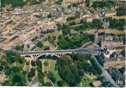 L100B_1042 - Luxembourg - 148 Vue Aérienne. La Vallée De La Pétrusse, Le Pont Adolphe Et Le Boulevard Roosevelt - Luxembourg - Ville
