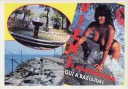 Martinsicuro, Teramo - Cartolina VIENI A MARTINSICURO - PERFETTA L30 - Teramo