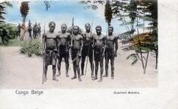 Congo Belge. Guerriers Mobeka - Congo Belga - Altri