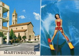 Martinsicuro, Teramo - Cartolina SALUTI DA MARTINSICURO - PERFETTA L30 - Teramo