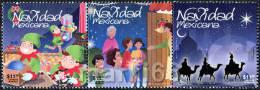 Mexico - 2012 - Christmas - Mint Stamp Set - Mexico