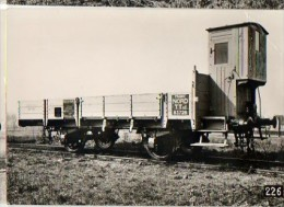 CP Du Museon Di Rodo - N° 694 - NORD Wagon à Bord Bas T Tuf 83 728 - Equipment