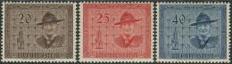 Liechtenstein 1953. Michel #316/18 MNH/Luxe. (Ts15) - Liechtenstein