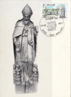 1977 - Sint-Niklaas - Saint Nicolas (woont In) Sculpture Bois - 1971-1980