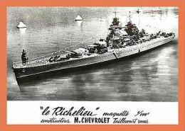 A176/125 25 - TAILLECOURT - LE RICHELIEU Maquette - M. Chevrolet ( Bateau ) - Unclassified