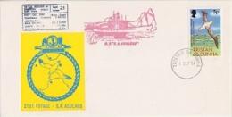 Tristan Da Cunha 1981 M.V. Agulhas 21st Voyage Cover Ca Tristan Da Cunha 1 Sep ´91 (F3884) - Tristan Da Cunha