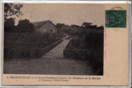 CP  Brazzaville Le Pont Président Carnot - Brazzaville